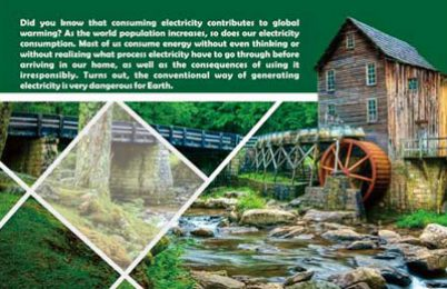 Waterwheel Blades and Generated Electricity (dbook – series)